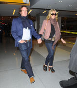 Jane Krakowski at JFK airport in New York 31-01-2011