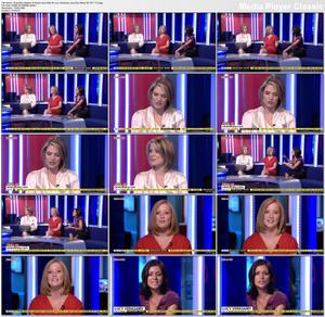 Charlotte Hawkins & Sarah-Jane Mee & Lucy Verasamy | Sky News HD 28-7-10 | Legs | HD 1080i