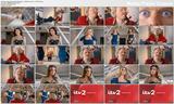 Kelly Brook - cleavage - Celebrity Juice - New Series TV Ad  - February 2013