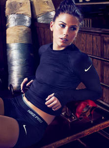 Alex Morgan - Nike Gear Up Photoshoot