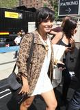 Vanessa Anne Hudgens | Arriving @ MBFW in NYC | September 8 | 12 leggy pics