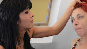 Hunt Erotic: Faceslapping -By Domina Cecilia Fernandez And Her Slave
