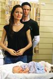 Angelina Jolie, Brad Pitt & Shiloh waxworks unveiled